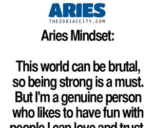 aries, horoscope, and zodiac image