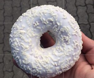 donut, pale, and tumblr image