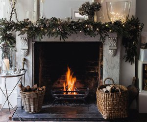 winter, decoration, and christmas image