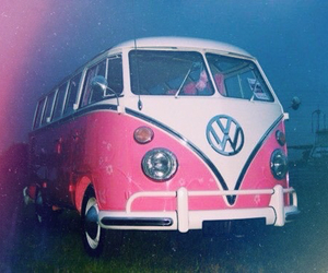 pink, car, and vw image