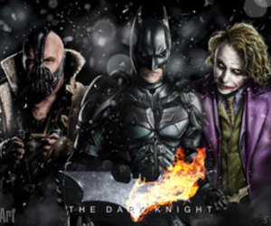 batman, the dark knight, and the joker image