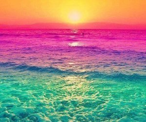 geil, pink, and sea image