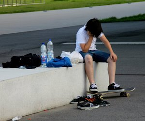 hotty, boy, and skater image