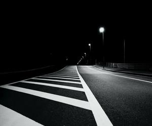deserted, night, and light image
