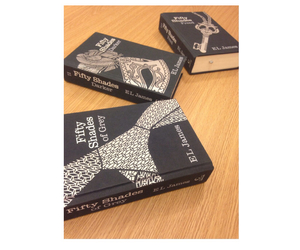 books and fifty shades of grey image