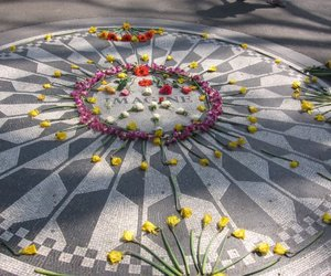 imagine, strawberry fields, and central park nyc image
