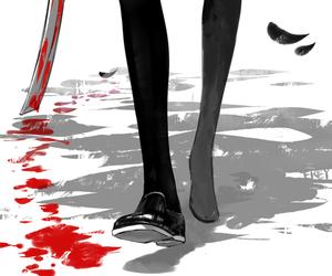 blood, anime, and manga image