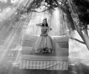 black and white, princess, and fairytale image