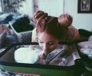 cat, debby ryan, and pale image