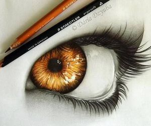 drawing, lashes, and tumblr image