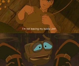 jim, quote, and treasure planet image