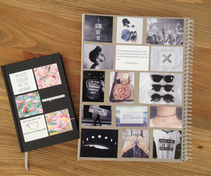notebook, diy, and idea image