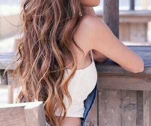 hair, summer, and style image