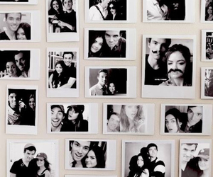 black and white, lucy hale, and ezria image