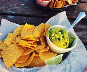 chips and avocados image