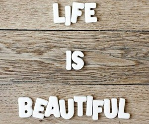 life, beautiful, and quotes image
