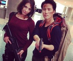 cosplay, glenn, and Maggie image