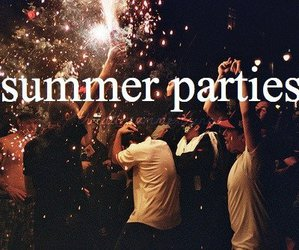 party, summer, and fun image