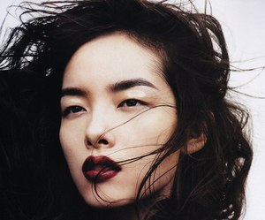model, asian, and fei fei sun image