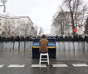 piano, music, and police image