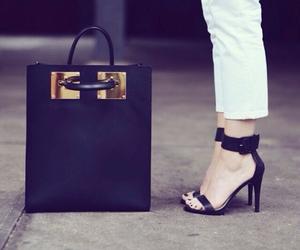 bag and heels image