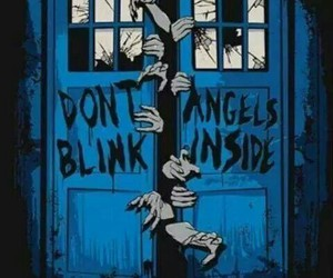 angel, blue, and doctor who image
