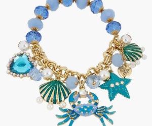 betsey johnson, bracelet, and ocean image