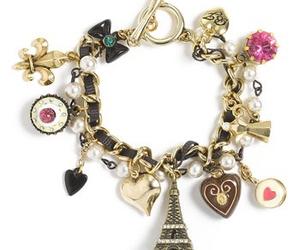 betsey johnson, paris, and bracelet image