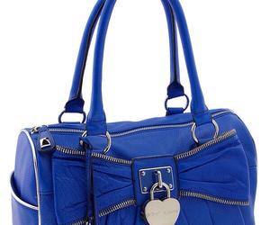betsey johnson and blue purse image