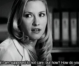 grey's anatomy, quote, and care image