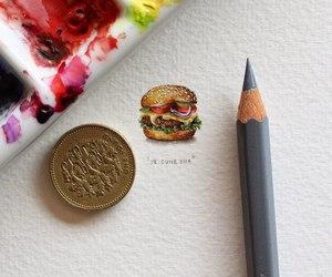 art, food, and drawing image