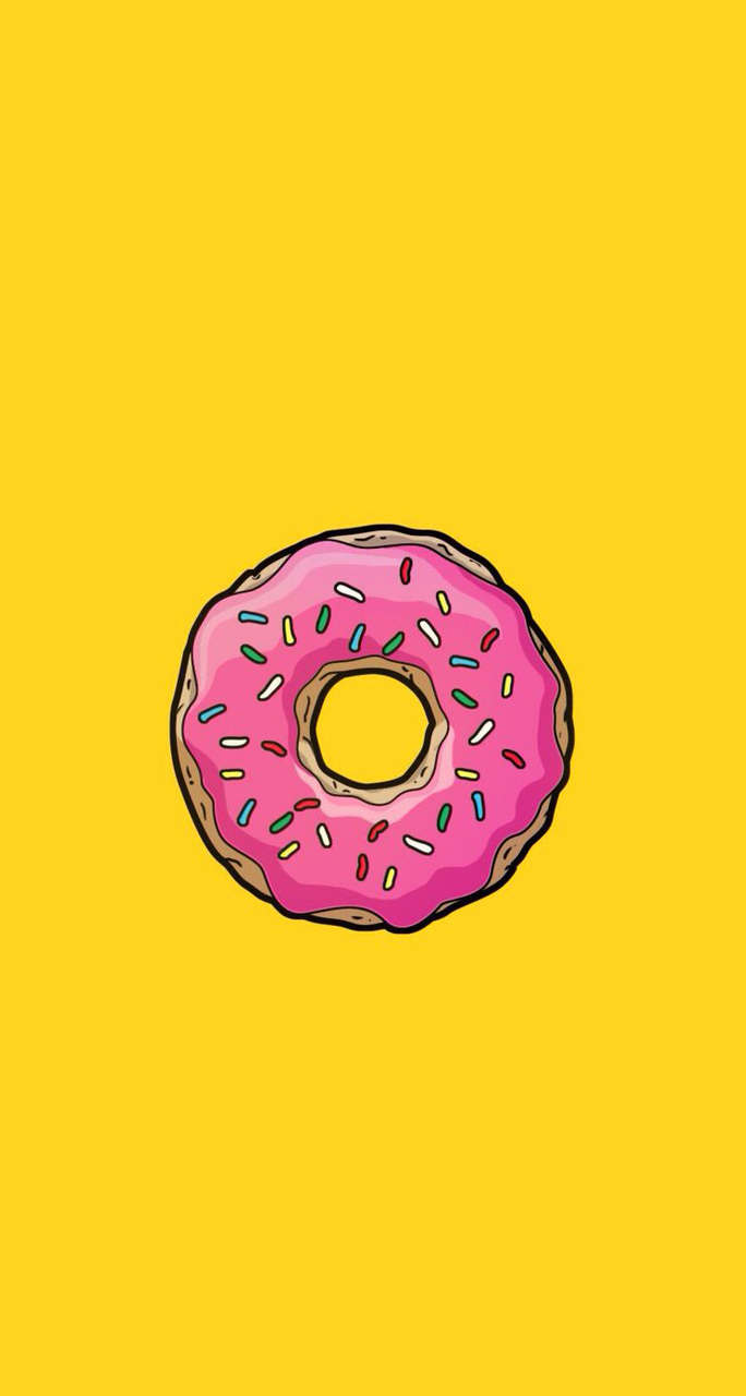 Yellow Donut Uploaded By Nicole Lai On We Heart It