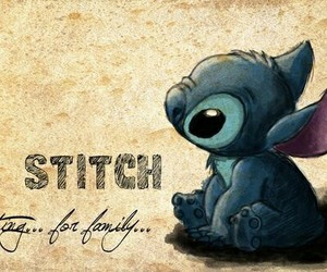 stitch, disney, and family image