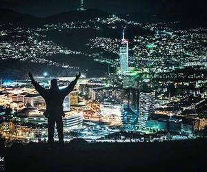 Bosnia, city, and light image
