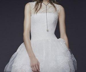 dress, Vera Wang, and luxury image