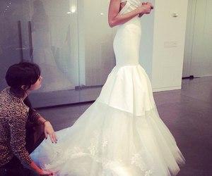 dress, luxury, and Vera Wang image
