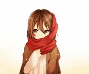 anime, attack on titans, and mikasa image