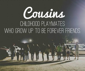 childhood, cousins, and forever image