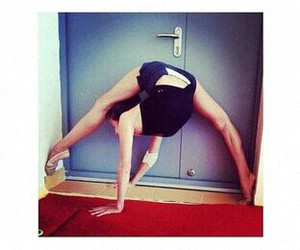 OMG, split, and gimnasia ritmica image