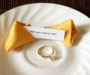 marriage, ring, and proposal image