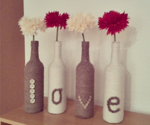 diy, flowers, and red image