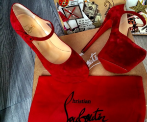 christian louboutin, high heels, and louboutin image