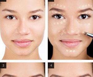 concealer, make up, and makeup image