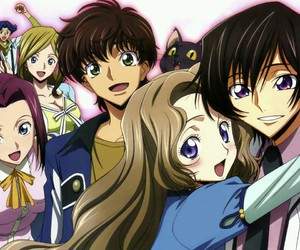 anime and code geass image