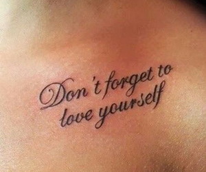 Tattoos and loveyourself image