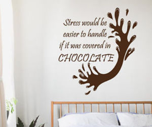 chocolate and wall quotes image