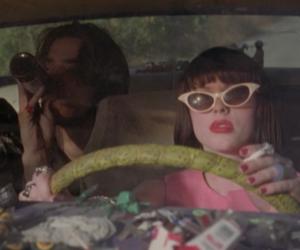 car, sunglasses, and the doom generation image
