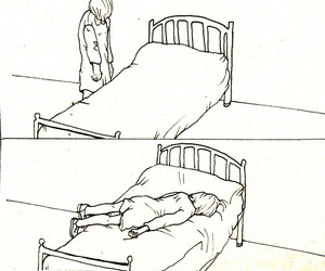 bed, lol, and drawing image