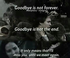 book, goodbye, and harry potter image
