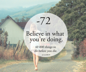 believe, hope, and things to do image